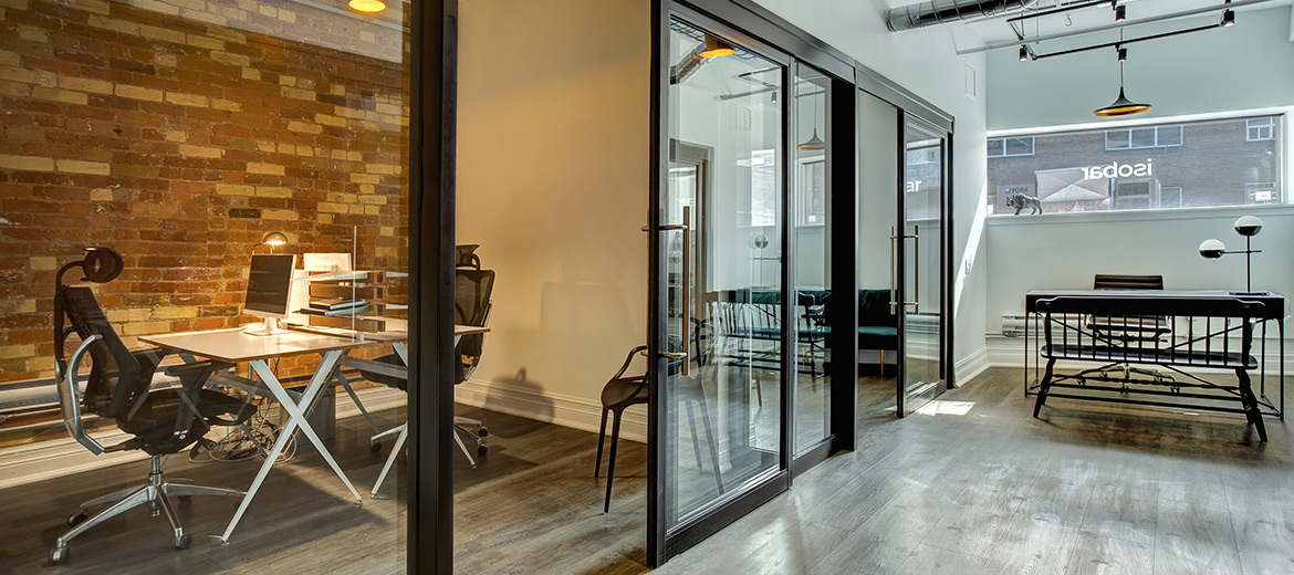 Sliding-doors architectural interior solutions