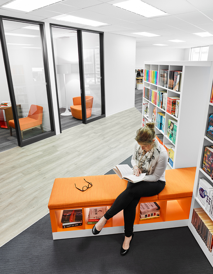 Library-interiors